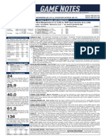 09.23.20 Game Notes