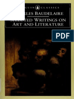 Baudelaire, Selected Writings on Art and Literature