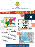 Cartaz Concurso Cartografia para Crianças 2011