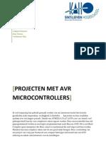 Projecten met AVRµC