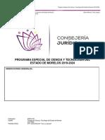 PROGRAMA  DE INNOVACIÓN 2019-2024
