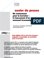 Dossier de Presse le MagEco