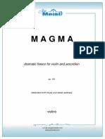 Jan Meisl - Magma (Партия Скрипки)