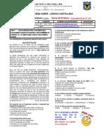 6° 4P GUÍA No. 4 Prueba Saber Lengua Castellana 2020