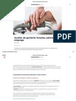 Auxiliar de Geriatria_ Funções, Salários e Emprego
