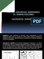 Proceos formadores de yacimientos - 8