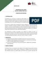 Guía No 3 Fundición Parafina