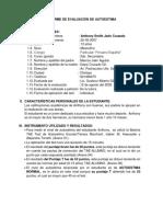 INFORME DE EVALUACIÓN DE AUTOESTIMA-GUSTAVO
