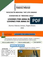 LESIONES ARMA BLANCA Y FUEGO