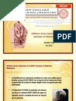 Inhibicion de Las Mutaciones en Los BRAF Activados.pptx Ficha