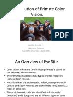 The Evolution of Primate Color Vision