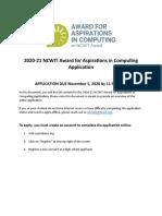 2020-21 AiC Award Application_ENG