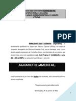 agravo_regimental_STJ_decicao_monocratica_negativa_seguimento_recurso_agravo_instrumento_indenizacao_majorar_PN222