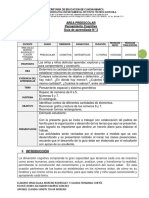 GRADO PREESCOOLAR GUÍA 3 DIMENSIÓN COGNITIVA - MATEMÁTICAS (1)