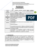 PREESCOLAR DIMENSIÓN ÉTICA Y VALORES- 1