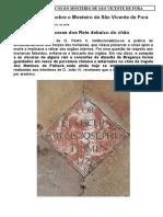 DADOS HISTÓRICOS DO MOSTEIRO DE SÃO VICENTE DE FORA