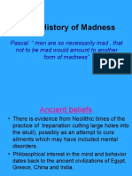 Unit 1 History of Madness