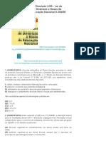 Simulado LDB - Lei de Diretrizes e Bases da Educação Nacional 9.394_96 _ Simbora Estudar!