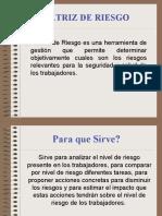 MATRIZ DE RIESGOS