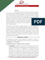 ÉTICA DEL DESARROLLO (cuadernillo)