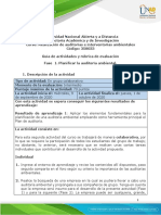Guía de actividades y rúbrica de evaluación - Unidad 1 - Fase 1. Planificar la auditoría ambiental .pdf