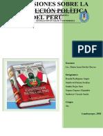 conclusiones CONSTITUCIÓN POLÍTICA DEL PERÚ.docx