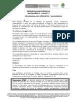 10. ESPECIFICACIONES TÉCNICAS (MANT. PERIOD) imprimir
