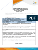 Guia de actividades y rubrica de evaluacion - Unidad 2 - Caso 3 - Analisis de politicas macroeconomicas.pdf