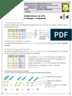 15° Guia Matemáticas-la multiplicación de una de una cifra y varios digitos