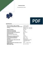 Compresor BOCK - HG4 465 4S