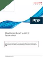 Experton_Cloud Vendor Benchmark 2010_Pressespiegel_280111_final