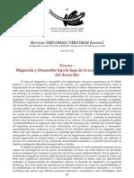 RDW y HMC, Dossier, Migración y desarrollo bajo la lupa de la economía política del desarrollo