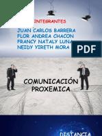 comunicacion proxemica