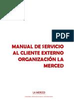 MANUAL DE SERVICIO AL CLIENTE EXTERNO
