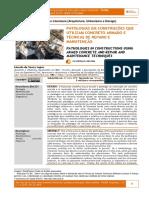Patologias em construções que utilizam concreto armado e técnicas de reparo e manutenção.
