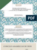 Profundización pastoral II tarea