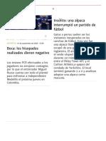 Boca_ los hisopados realizados dieron negativo _ Boca Juniors , Copa Libertadores, Coronavirus