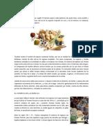 Clasificaci n de las especias for Equipo mayor y menos de la cocina pdf