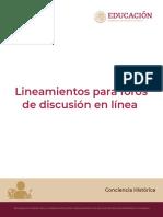Lineamientos para foros de discusión en línea_v2