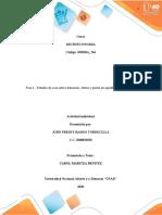 Unidad 1 - Fase 2 - Estudio de caso sobre demanda, oferta y punto de equilibrio del mercado.