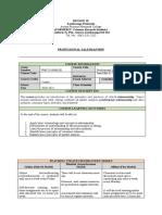 Professional Salesmanship Final Module