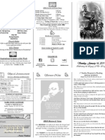 Weekly Bulletin 01-16-11