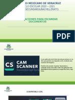 Apps para escanear documentos