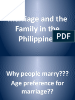 Marriage and the Family in the Philippines