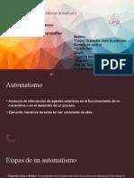 Presentación estructura de un automatismo