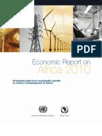 Africa Economic DVL 2010