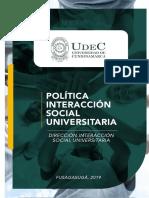 Politicas ISU año 2019 (1)
