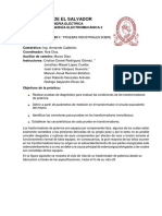 GUIA DE LABORATORIO 1 PRUEBAS INSDUSTRIALES SOBRE TRANSFORMADORES