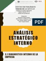 Analisis estrategico I.