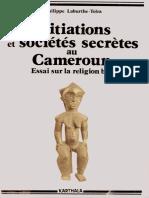 Initiations et Sociétés secrètes au Cameroun _ Les Mystères de la nuit ( PDFDrive ).pdf